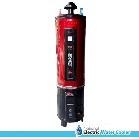 Electric + Gas Geyser – National Deluxe Model (35 GLN)