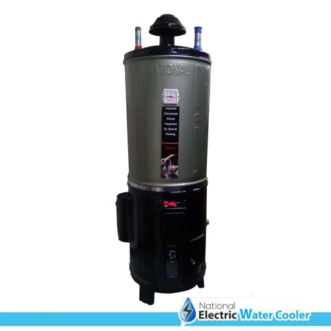 Electric + Gas Geyser – National Super Deluxe Model (25 GLN)